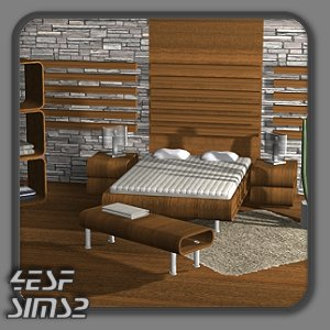 4ESF - modern furniture for Sims2