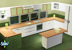 Holy simoly best quality free sims 2 downloads for Modern kitchen sims 3
