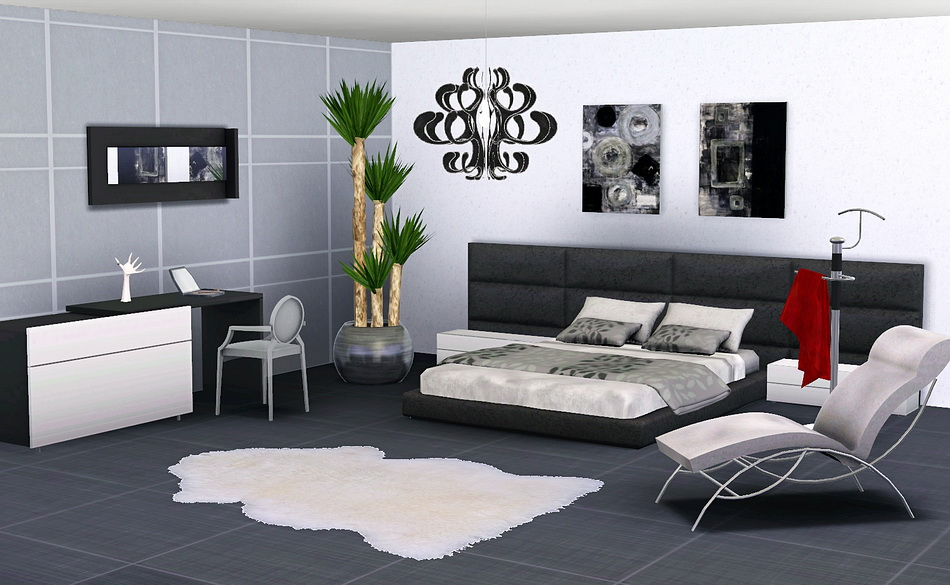 Stylist sims for Sims 3 master bedroom ideas
